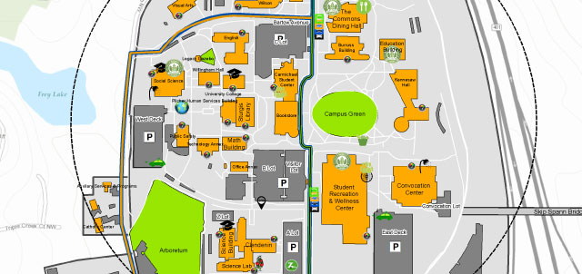 Kennesaw State Campus Map Sustainability | Kennesaw State University